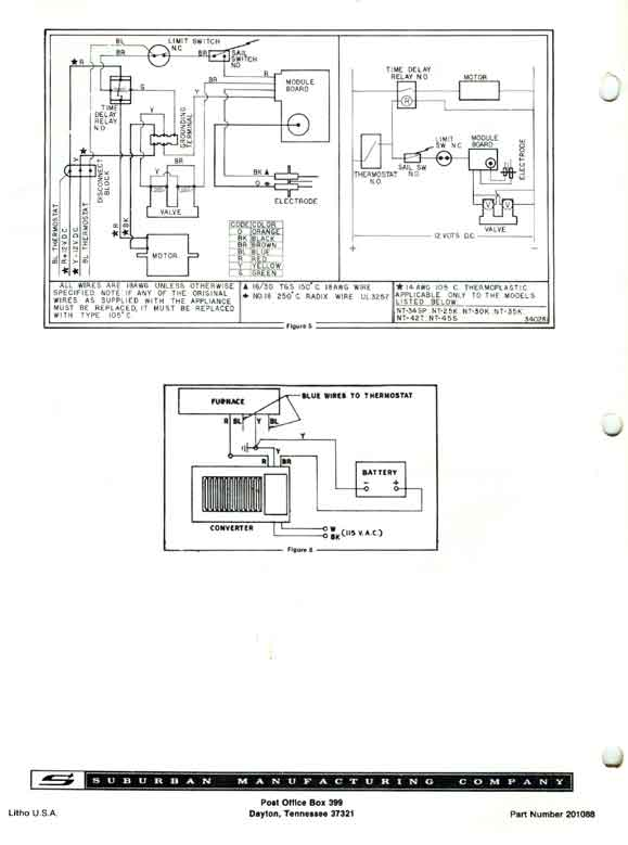 Furnace Wiring Schematic we suburban gas furnace suburban furnace wiring diagram at crackthecode.co