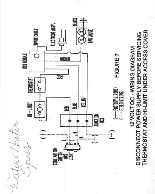 Water Heater Wiring Diagrams suburan water heater suburban furnace wiring diagram at crackthecode.co