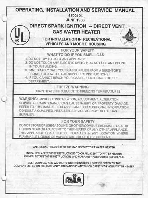 Water heater Manual jpeg ice maker water heater manuals suburban water heater wiring diagram at edmiracle.co